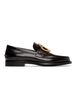 Burberry Black TB Emile Loafers