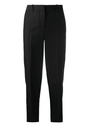 Loewe straight-leg cropped trousers - Black