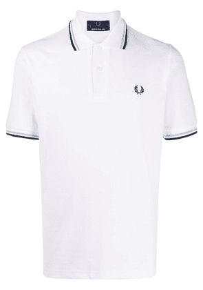 Fred Perry short sleeve polo shirt - White