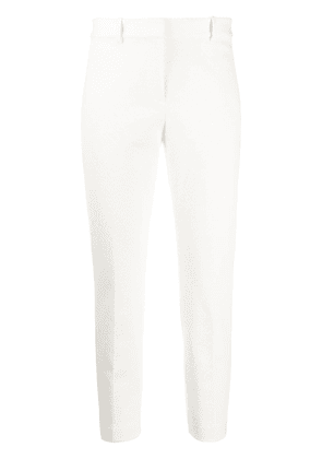 Theory ribbed skinny trousers - White