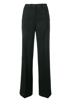 Paul Smith wide-leg tailored trousers - Black
