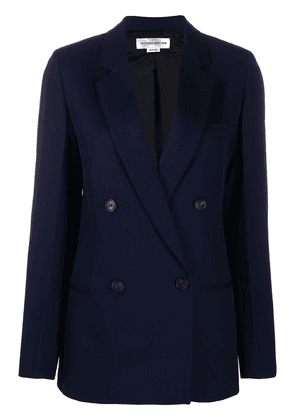 Victoria Beckham double-breasted wool blazer - Blue