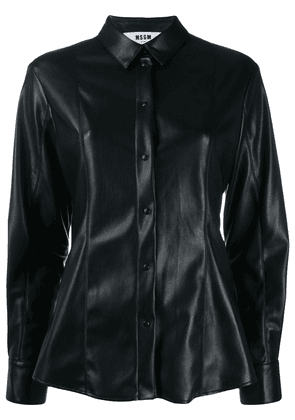 MSGM tailored button-up shirt - Black