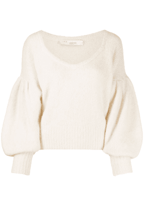 IRO long-sleeved oversize jumper - Neutrals