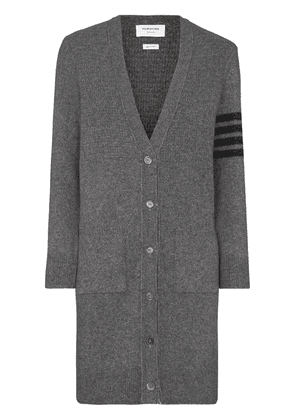 Thom Browne 4-bar wool and cashmere-blend - Grey