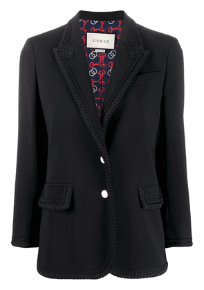Gucci single-breasted blazer - Black