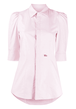 Dsquared2 Easy Dean embroidered shirt - PINK