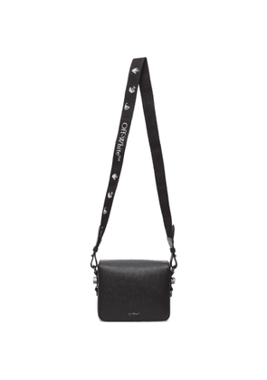 Off-White Black Quote Flap Bag