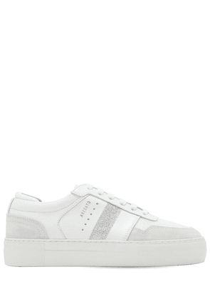 30mm Platform Leather Sneakers