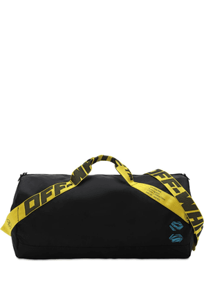 Basic Nylon Duffle Bag W/ Logo Webbing