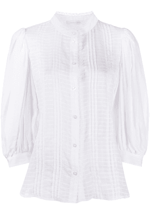 See by Chloé lace-detail shirt - White