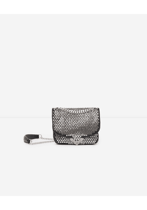 The Kooples - Sac mini Stella by The Kooples studs argentés all-over - WOMEN