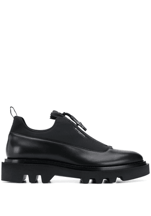 Givenchy combat derby shoes - Black