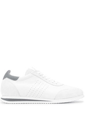 Brunello Cucinelli low top perforated sneakers - White