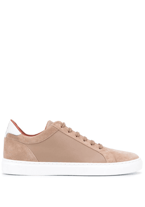 Brunello Cucinelli low top lace-up sneakers - Brown