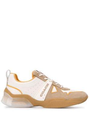 Coach ADB low-top leather sneakers - Neutrals