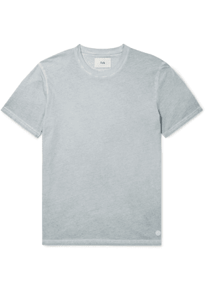 Folk - Assembly Garment-Dyed Cotton-Jersey T-Shirt - Men - Blue