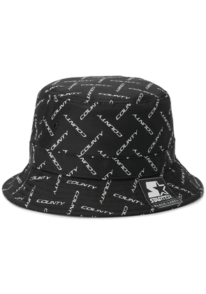 MARCELO BURLON COUNTY OF MILAN logo bucket hat - Black