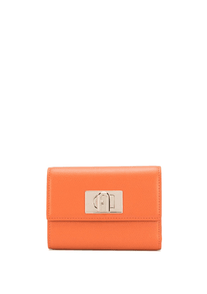 Furla 1927 twist-lock wallet - ORANGE