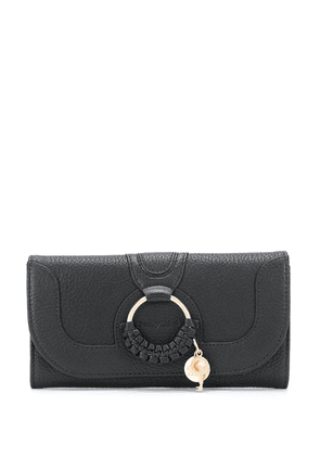 See by Chloé branded wallet - Black