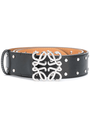 Loewe Anagram buckle belt - Black