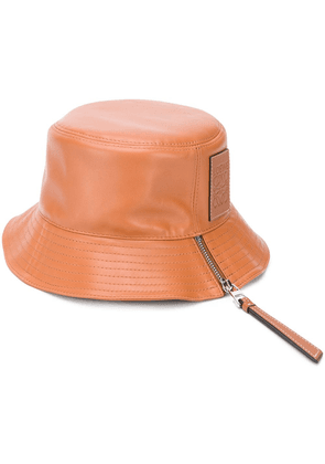 Loewe Anagram embossed fisherman hat - Brown
