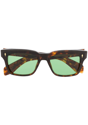 Jacques Marie Mage tortoiseshell frame sunglasses - Brown