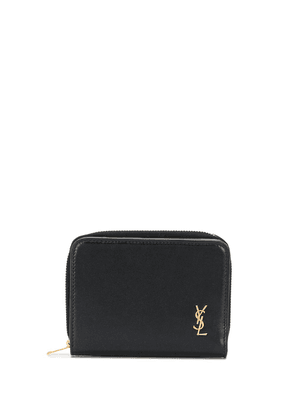 Saint Laurent monogram compact wallet - Black