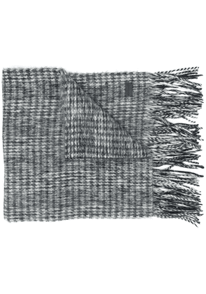 Saint Laurent wool scarf - Grey