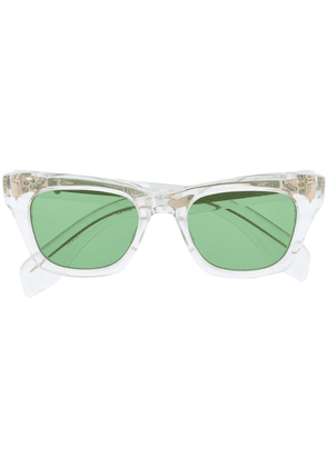 Jacques Marie Mage clear frame sunglasses - Neutrals