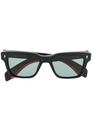 Jacques Marie Mage square tinted sunglasses - Black
