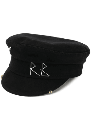 Ruslan Baginskiy embroidered logo sailor hat - Black
