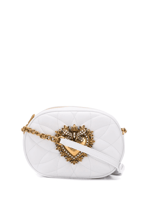 Dolce & Gabbana Devotion crossbody bag - White