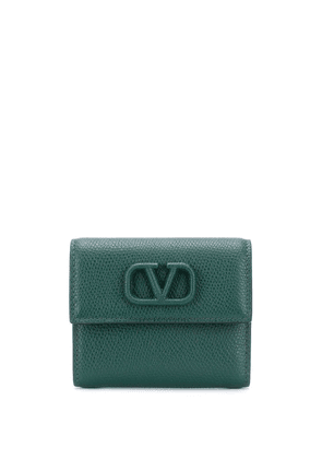 Valentino Garavani small VSLING wallet - Green