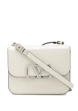 Valentino Garavani VLOGO chain-detail shoulder bag - Neutrals