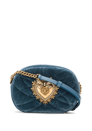 Dolce & Gabbana Sacred Heart cross-body bag - Blue