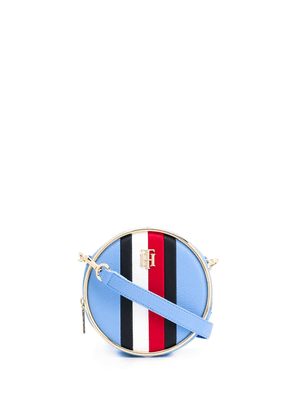 Tommy Hilfiger Statement Circle logo cross-body bag - Blue