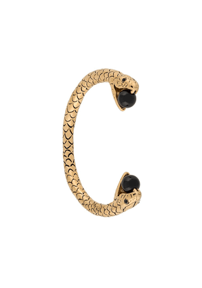 Saint Laurent serpent cuff bracelet - Metallic
