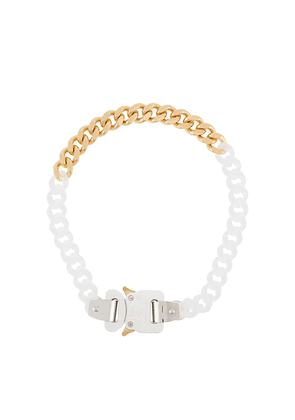 1017 ALYX 9SM buckled chain necklace - White