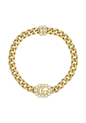 Gucci pearl double G necklace - 8078 Undefined