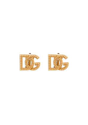 Dolce & Gabbana gold-tone studded earrings