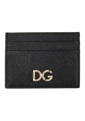 Dolce and Gabbana Black Dauphine Card Holder
