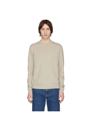 Norse Projects Off-White Wool Sigfred Sweater