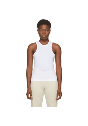 John Elliott White Supima Tank Top