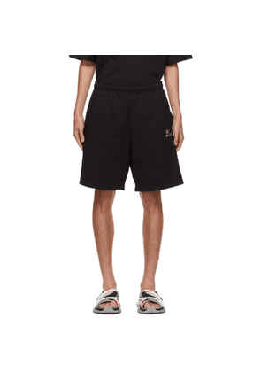 Balenciaga Black Gym Wear Shorts