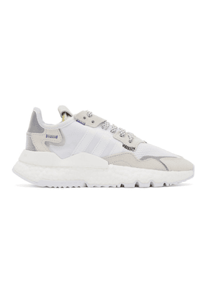 adidas Originals White 3M Edition Nite Jogger Sneakers