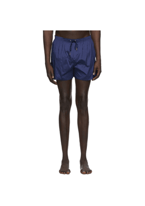 Dsquared2 Navy Back Logo Swim Suits