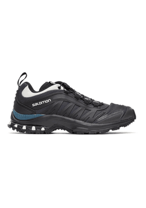 Salomon Black and Green XA-Pro Fusion Advanced Sneakers
