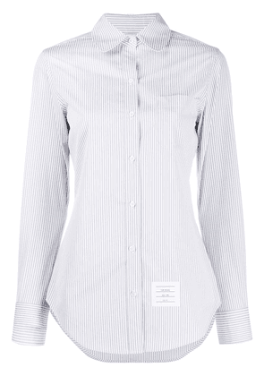 Thom Browne classic long sleeve shirt - Grey