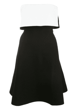 Proenza Schouler two-toned strapless mini dress - Black